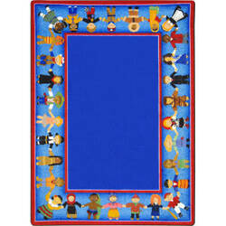 Joy Carpets Kid Essentials Children Of Many Cultures Multi Area Rug