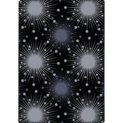 Joy Carpets Kaleidoscope Cosmopolitan Silver Area Rug