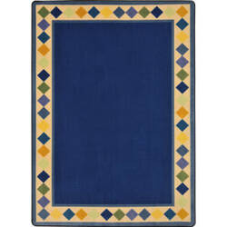 Joy Carpets Kid Essentials Delightful Diamonds Multi Area Rug