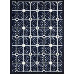 Joy Carpets Kaleidoscope Electrode Navy Area Rug