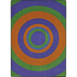 Joy Carpets Kid Essentials Fascinate Violet Area Rug
