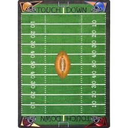 Joy Carpets Games People Play Football Fun Multi Area Rug