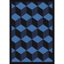 Joy Carpets Kaleidoscope Highrise Navy Area Rug