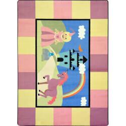 Joy Carpets Kid Essentials Lil' Princess Multi Area Rug