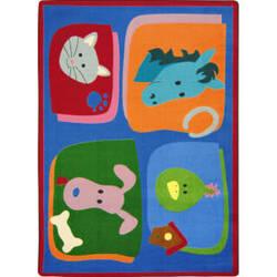 Joy Carpets Kid Essentials My Favorite Animals Multi Area Rug