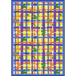 Joy Carpets Playful Patterns My Little Princess Yellow Area Rug