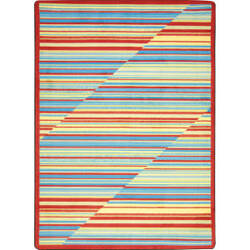 Joy Carpets Kid Essentials Rhythm Tropical Area Rug