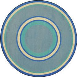 Joy Carpets Kid Essentials Ripples Boy Blue Area Rug