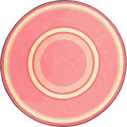 Joy Carpets Kid Essentials Ripples Pretty Pink Area Rug