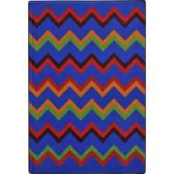Joy Carpets Kid Essentials Sonic Primary Area Rug
