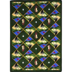 Joy Carpets Games People Play Spike N' Tee Multi Area Rug