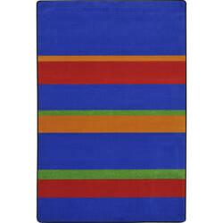Joy Carpets Kid Essentials Straight And Narrow Primary Area Rug