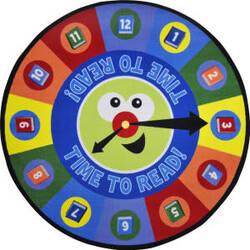 Joy Carpets Kid Essentials Time To Read Multi Area Rug