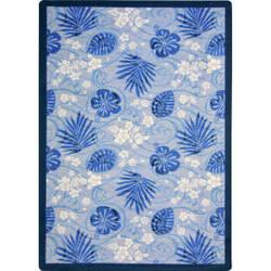Joy Carpets Kaleidoscope Trade Winds Indigo Area Rug
