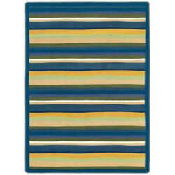 Joy Carpets Kid Essentials Yipes Stripes Bold Area Rug