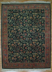 Kalaty Oak 112479 Dark Green Area Rug