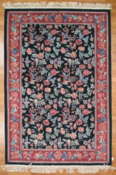 Kalaty Oak 114859 Dark Green Area Rug