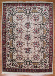 Kalaty Oak 145552 Ivory Rust Area Rug