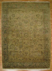 Kalaty Oak 169320 Beige Green Area Rug