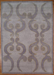 Kalaty Oak 336601 Light Blue Area Rug