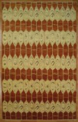 Kalaty Oak 347964 Red Ivory Area Rug