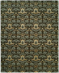 Famous Maker Grimani 100682 Smokey Brown Area Rug