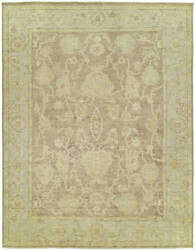 Kalaty Karaman Kr-002 Brown - Light Blue Area Rug