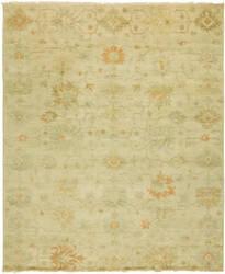 Famous Maker Oushak 100468 Vintage Parchment Area Rug