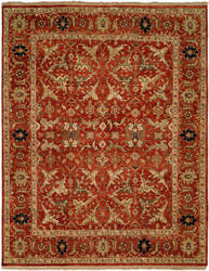 Famous Maker Pastire 100984 Rust Area Rug