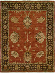 Famous Maker Regal Legacy 100782 Rust - Brown Area Rug
