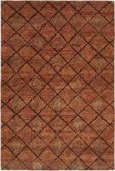 Famous Maker Royal Manner Derbysh 100735 Coral Area Rug