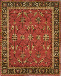 Famous Maker Sunil 100328 Rust - Brown Area Rug