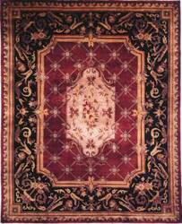 Kalaty Le Palais Ps-501 Plum/Black Area Rug