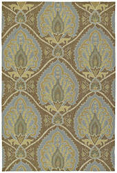 Kaleen Home and Porch Mercer's Glen Coffee 2020-51 Area Rug