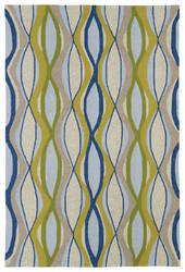 Kaleen Home And Porch 2034-17 Blue Area Rug