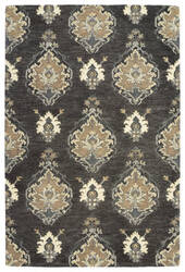 Kaleen Brooklyn 5306-38 Charcoal Area Rug