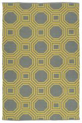 Kaleen Brisa Bri06-28a Yellow Area Rug