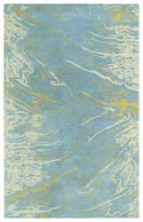Kaleen Brushstrokes Brs01-17 Blue Area Rug