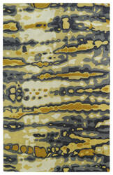 Kaleen Brushstrokes Brs03-05 Gold Area Rug