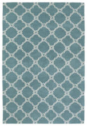 Kaleen Cozy Toes Ctc10-78 Turquoise Area Rug