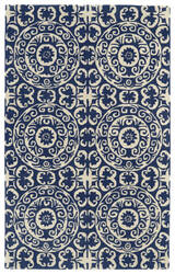 Rugstudio Sample Sale 105796R Navy Area Rug