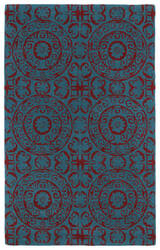Kaleen Evolution Evl03-94 Peacock Area Rug