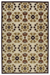 Kaleen A Breath of Fresh Air Fsr06-105 Khaki Area Rug