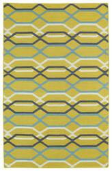 Kaleen Glam Gla01-28 Yellow Area Rug