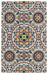 Kaleen Global Inspirations Glb08-01 Ivory Area Rug