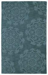 Kaleen Imprints Classic Ipc01-78 Turquoise Area Rug