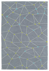 Kaleen Lily And Liam Lal08-75 Grey Area Rug