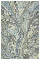 Kaleen Marble Mbl04-17 Blue Area Rug