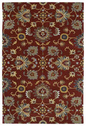 Kaleen Middleton Mid02-25 Red Area Rug