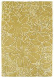 Kaleen Melange Mlg05-28 Yellow Area Rug